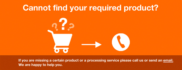 Cannot find your required product?